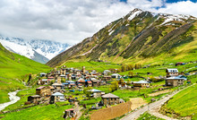 Ushguli Village With Svan Towe...