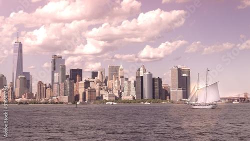 Skyline de Nueva York desde brookling