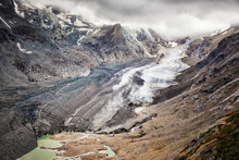 The Pasterze Glacier Beneath Austria's Highest Mountain, The Grossglockner, Summer 2018