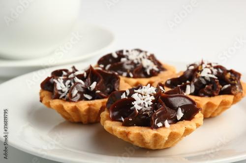 Fotografia Mini Chocolate Tart