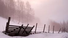Winterlandscape Hallingdal, Gol