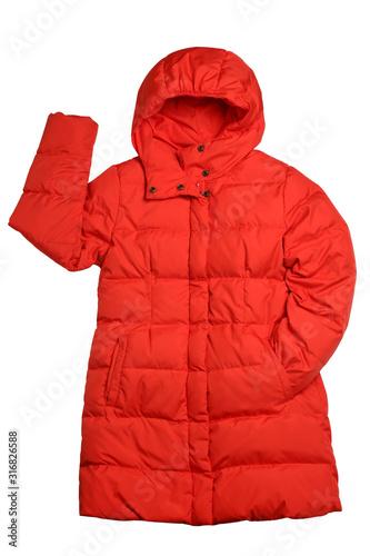 Obraz Woman winter coat - fototapety do salonu