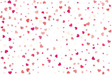 Heart Confetti Of Valentine's ...