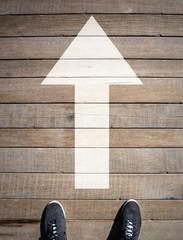 New Beginnings - Going Forward Straight Ahead