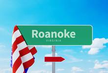Roanoke – Virginia. Road Or ...