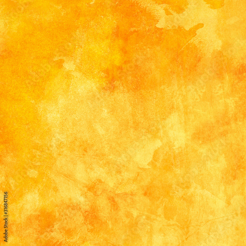 Fototapeta abstract yellow background with texture obraz