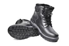 Winter Men's Black Leather B...