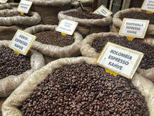 Coffee Beans With Turkish Labe...