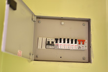 Voltage Switchboard With Circu...