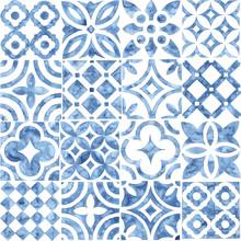 Seamless Moroccan Pattern. Squ...