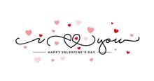 I Love You Handwritten Typogra...