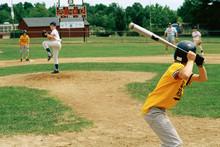 Little League Batter Awaiting ...