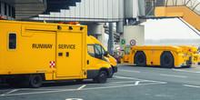 Runway Service Vehicles Standi...