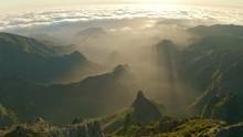 Drone Footage Of Pico Do Ariei...