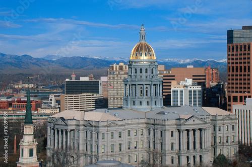 Obraz State Capitol of Colorado, Denver - fototapety do salonu