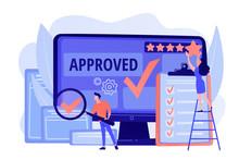Approval Mark. Product Advanta...