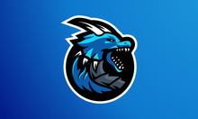 Dragon Esport Logo - Mascot Logo-02