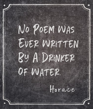 No Poem Horace Quote