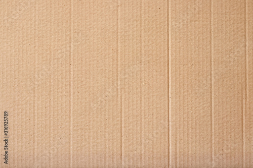 Brown cardboard sheet abstract background, texture of recycle paper box in old vintage pattern for design art work Canvas