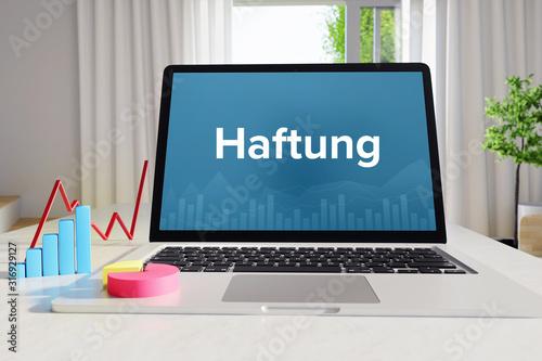 Photo Haftung – Business/Statistik