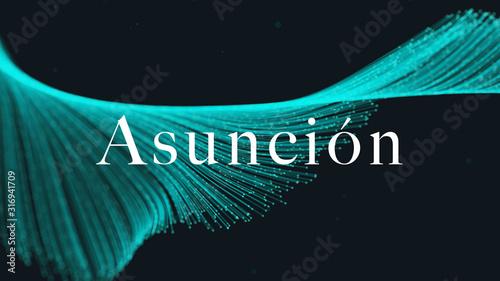 Photo web Label Sticker Asunción
