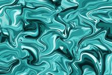 Wallpaper Turquoise Digital Ar...