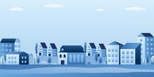 City Landscape With Buildings,...