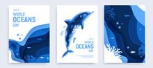 Paper Art World Ocean Day Bann...