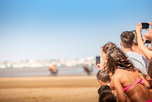 Carreras De Caballo En La Playa
