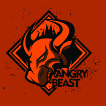 Anggry Beast And Bull Esport Logo