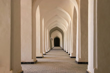 Corridor Of Arches In The Bukh...