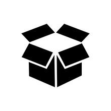 Box Icon On A White Background...