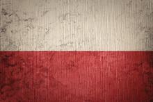 Grunge Poland Flag. Poland Fla...