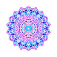 Colorful Ornate Mosaic Triangl...