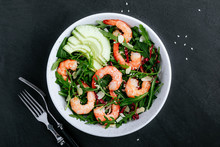 Shrimp Salad With Fresh Green ...