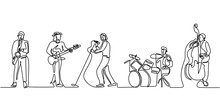 Group Band Music Performance. ...