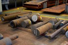 Round Steel Billets For Rollin...