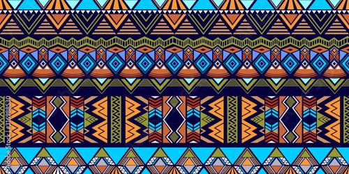 Tribal pattern vector Canvas Print