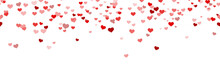Seamless Confetti Hearts Backg...