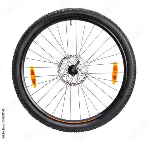 Foto bike front wheel