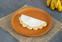 Tapioca Filled Of Banana Slice...