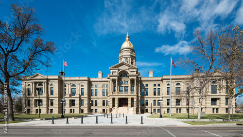 Wyoming Capitol Building Canvas
