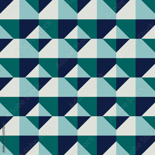 Decorative pattern for the background, tile and textiles Canvas Print