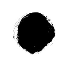 Vector Grunge Circle Isolated ...