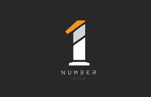 Number 1 One For Company Logo ...