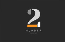 Number 2 Two For Company Logo ...