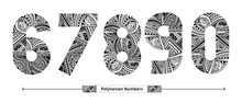 Numbers Polynesian Style In A ...