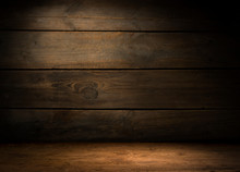 Wood Brown Grain Texture, Dark...