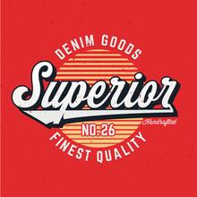 Superior Denim Goods - Tee Des...
