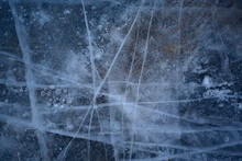 Cracked Ice Texture, Abstract ...